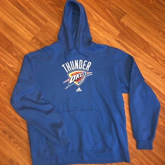 size 40 04f01 6b570 [Adidas] Oklahoma City Thunder Hoodie